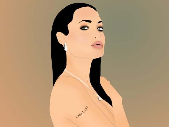 Angelina Jolie por blazinphoenix